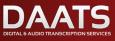 Digital & Audio Transcription Services